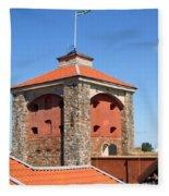 Gothenburg Fortress 03 Fleece Blanket