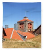 Gothenburg Fortress 05 Fleece Blanket