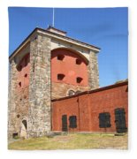 Gothenburg Fortress 06 Fleece Blanket