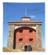 Gothenburg Fortress 07 Fleece Blanket