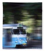 Gothenburg Tram 05 Fleece Blanket