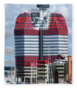 Gothenburg Utkiken Tower 06 Fleece Blanket