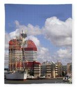 Gothenburg Utkiken Tower 07 Fleece Blanket