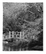 Gothic Bog Walk Fleece Blanket