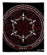 Gothic Celtic Mermaids Fleece Blanket