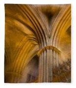 Gothic Impression Fleece Blanket