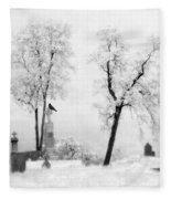 Gothic Lullaby Fleece Blanket