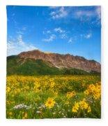 Gothic Meadow Fleece Blanket