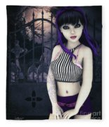 Gothic Temptation Fleece Blanket