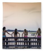 Goulds Creek Girls Fleece Blanket