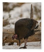 Gould's Wild Turkey Xi Fleece Blanket