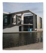 Government Building  Berlin  Fleece Blanket