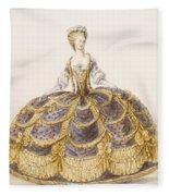 Gown Suitable For Presentation Fleece Blanket