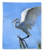 Graceful Landing Fleece Blanket