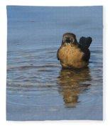Grackle Bathing Fleece Blanket