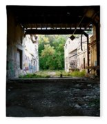 Graffiti Alley 1 Fleece Blanket