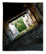 Graffiti Alley 2 Fleece Blanket