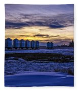 Grain Barns Fleece Blanket