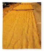 Grain Drying Fleece Blanket
