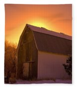 Granary Rise Fleece Blanket