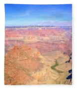 Grand Canyon 19 Fleece Blanket