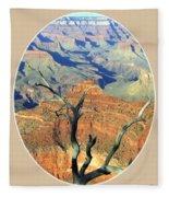 Grand Canyon 77 Fleece Blanket