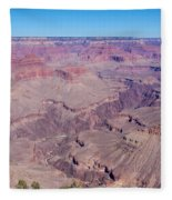 Grand Canyon And Colorado River Fleece Blanket