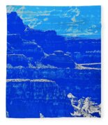 Grand Canyon Blues Fleece Blanket
