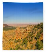 Grand Canyon Desert View Fleece Blanket