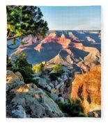 Grand Canyon Ledge Fleece Blanket