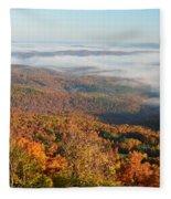 Grand Canyon Of Arkansas Fleece Blanket