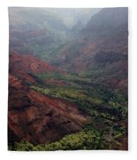 Grand Canyon Of The Pacific Fleece Blanket