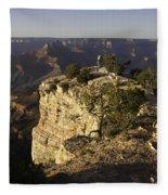 Grand Canyon Outlook Fleece Blanket