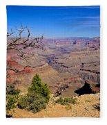 Grand Canyon South Rim Trail Fleece Blanket