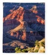 Grand Canyon Sunset Ridge Fleece Blanket