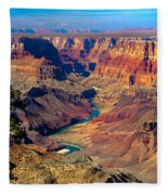 Grand Canyon Sunset Fleece Blanket