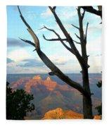 Grand Canyon Tree Fleece Blanket