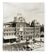 Grand Central, 1886 Fleece Blanket