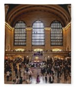 Grand Central Fleece Blanket