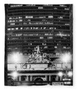 Grand Central Pan Am Building Fleece Blanket