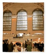 Grand Central 's Main Terminal Fleece Blanket