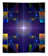 Grand Central Star Station Fleece Blanket