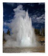 Grand Eruption Fleece Blanket