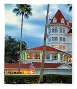 Grand Floridian Resort Walt Disney World Fleece Blanket