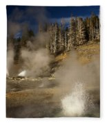 Grand Geyser Group Fleece Blanket