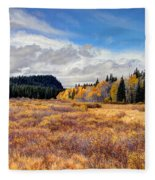 Grand Mesa Colors Fleece Blanket