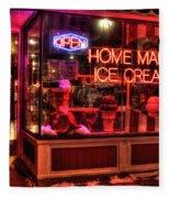 Grand Ole Creamery On Grand Avenue Fleece Blanket