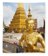 Grand Palace, Bangkok Fleece Blanket