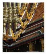 Grand Palace Bangkok Thailand 2 Fleece Blanket