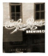 Grand Rapids Brewing Co Fleece Blanket